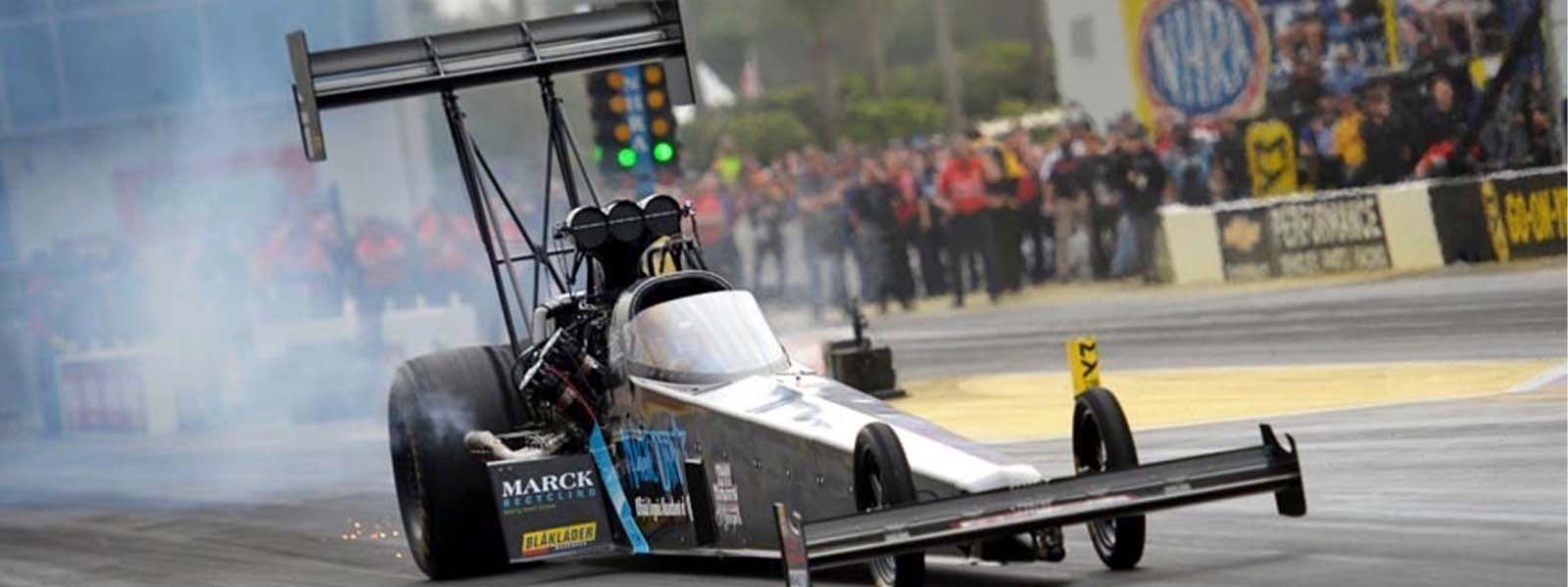 Magic Dry pro Scott Palmer securing all the pieces to put him on top of Top Fuel