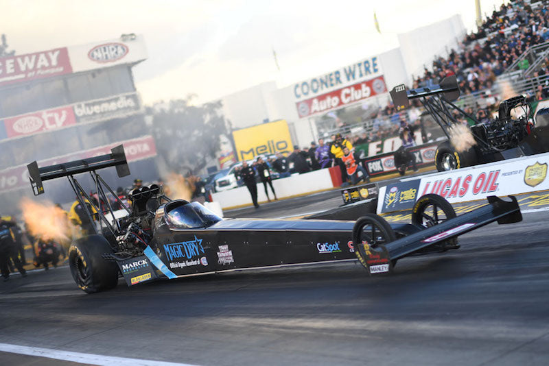 Scott Palmer's Magic Dry Top Fuel Dragster
