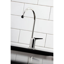 Faucet Chrome with black handle