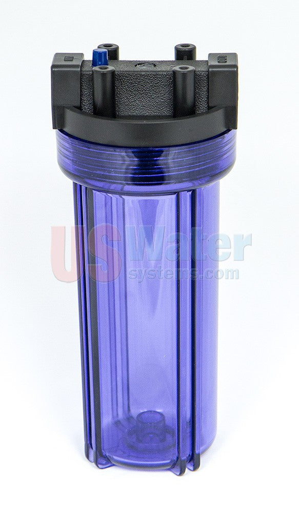 Water filter housing, single house with 3/4