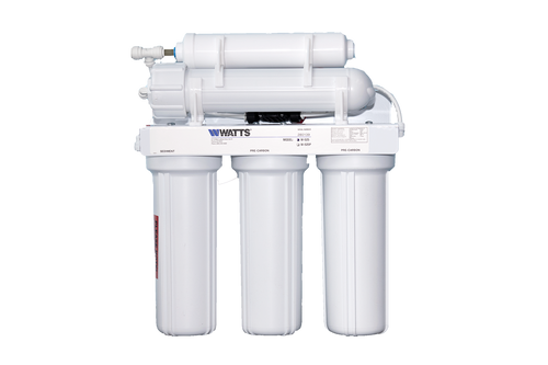 Watts Reverse Osmosis Filter -LEAD FREE- 5 stage 50 GPD - Great Value!