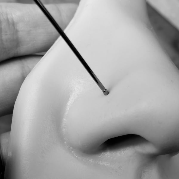 using a pin insertion taper