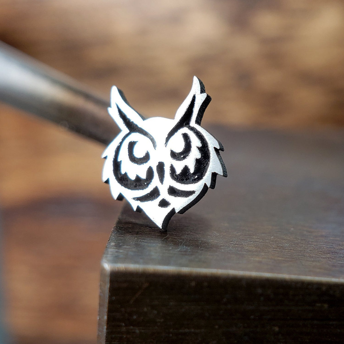 Metal Lotus Nose Stud Silver Owl Head Nose Stud