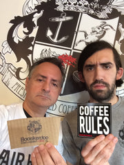 "Fairhaven Baristas Chuck and Joe - ""We Make The Coffee Rules"""