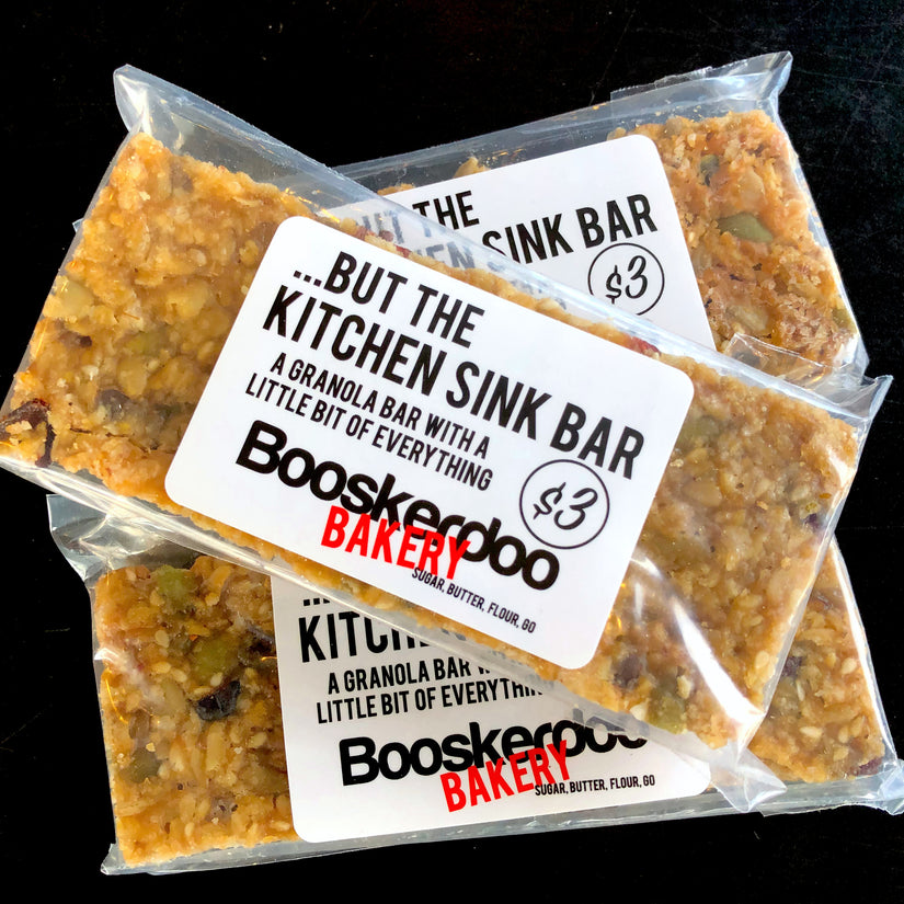 ...But the Kitchen Sink Bar (a joyous granola bar for the soul)