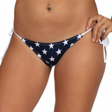 Women's Juniors USA Flag 2-Piece Bikini Swimwear