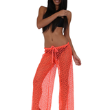 Women's Crochet Pants Swimwear Bikini Cover Up Made in the USA