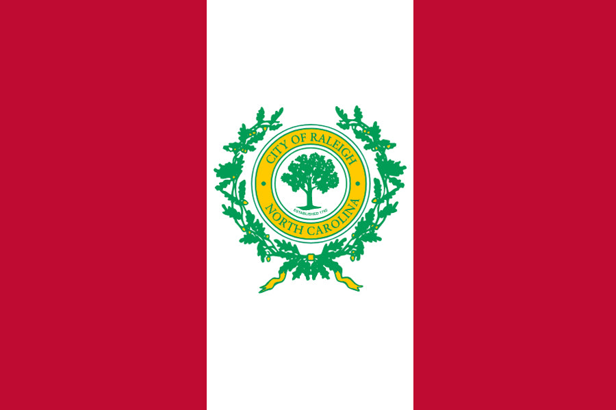 Raleigh City Flag