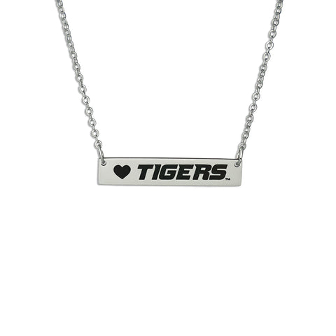 University of Missouri Tigers Bar Necklace