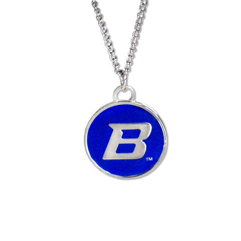 Boise State Cutout Necklace