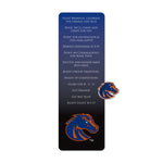 Boise St Bookmark and Pin