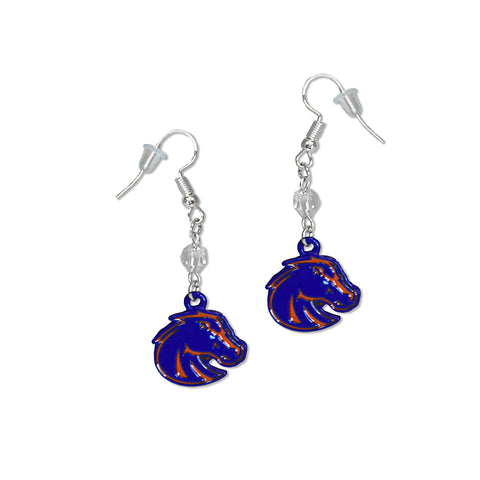 Boise State Fan Earrings