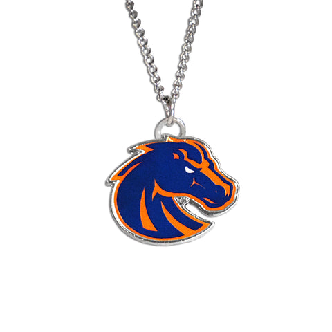 Boise State Fan Necklace