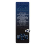 BYU Bookmark With Pin
