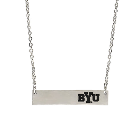 BYU Bar Necklace