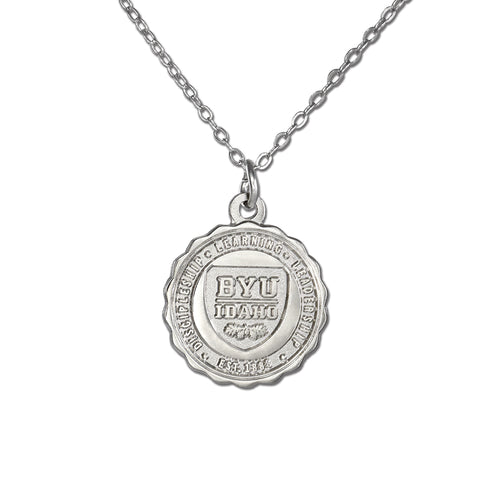 BYU Idaho Crest Necklace