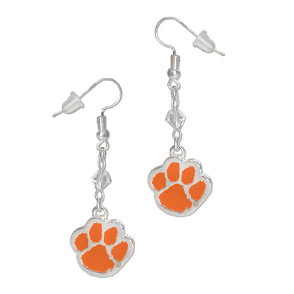 Clemson Fan Earrings