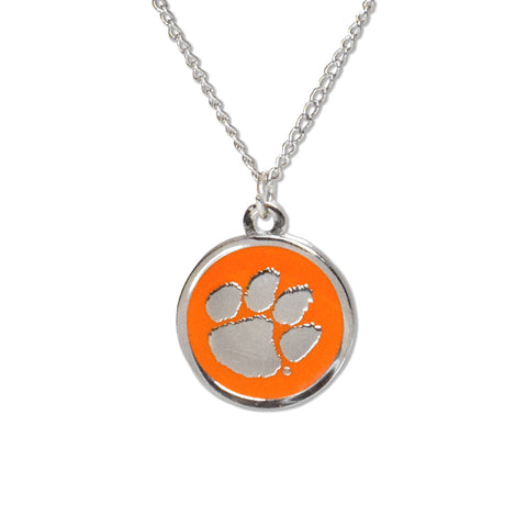 Clemson Cutout Necklace