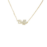 University of Colorado Script Necklace