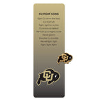 Colorado Buffaloes Pin and Bookmark