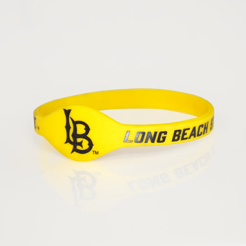 Cal State Long Beach Silicone Bracelet