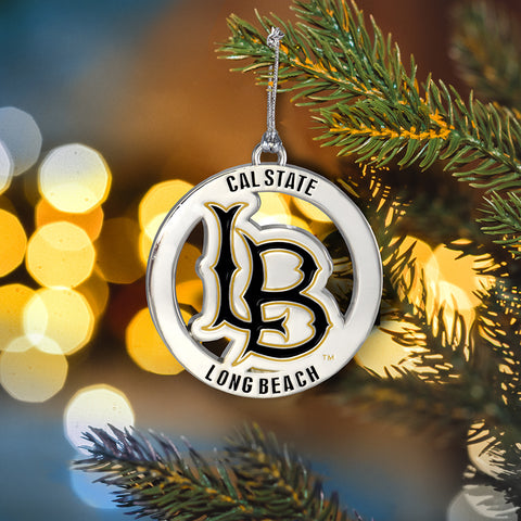 Cal State Long Beach Ornament CSL