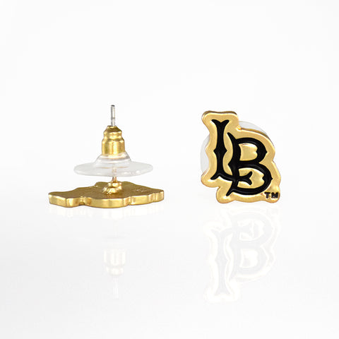 Cal State Long Beach Post Earrings