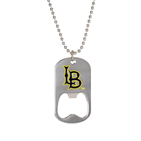 Cal State Long Beach Bottle Opener Dogtag