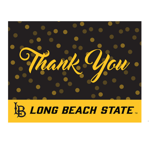 Cal State Long Beach Polka Thank You Card