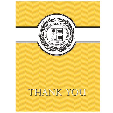Cal State Long Beach Seal Thank You Card