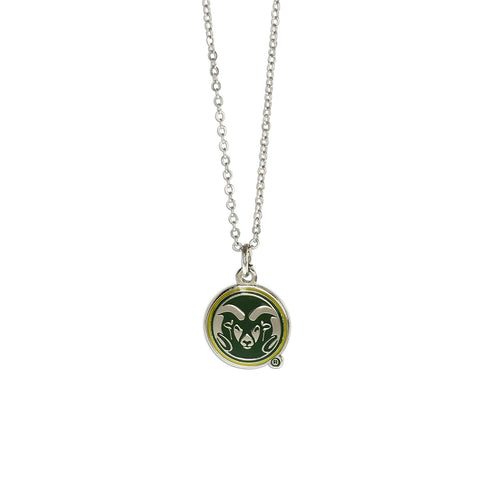Colorado State Rams Fan Necklace