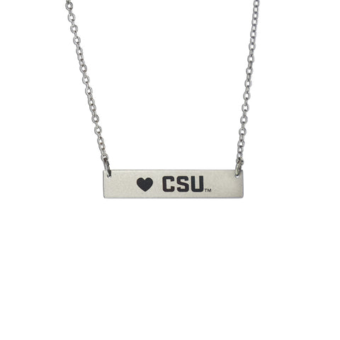 Colorado State Rams Bar Necklace