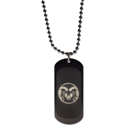 Colorado State Rams Dog Tag