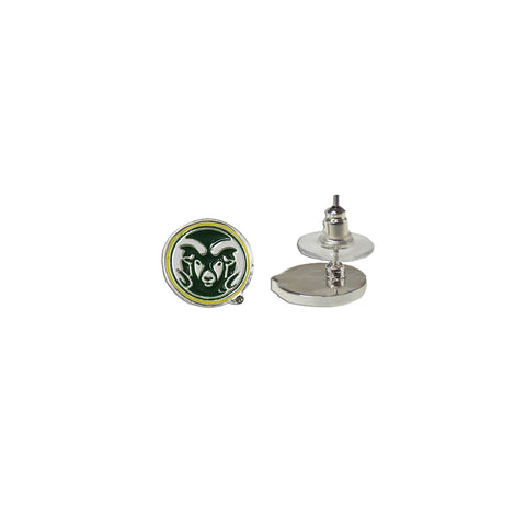 Colorado State University Rams Post Earrings