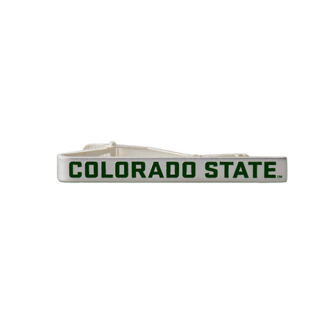 Colorado State University Rams Silver Tie Bar