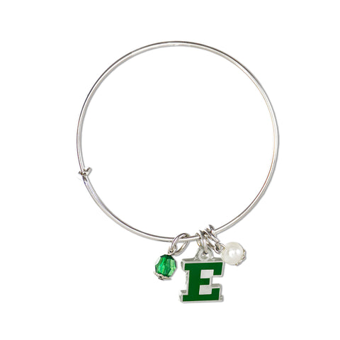 Eastern Michigan Bangle Bracelet