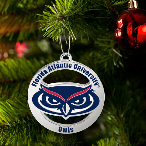 Florida Atlantic University Owls Ornament