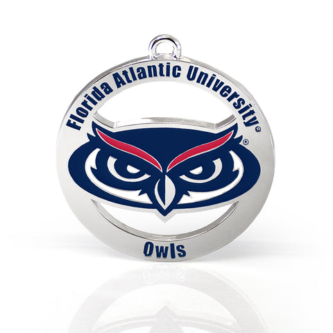 Florida Atlantic Owls Ornament
