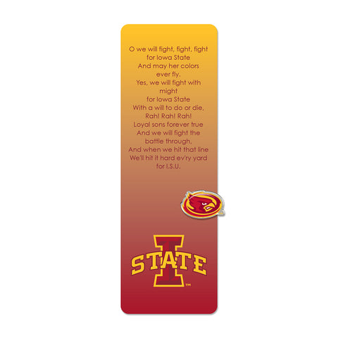 Iowa State Bookmark & Pin