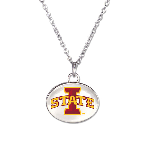 Iowa St. Fan Neckalce