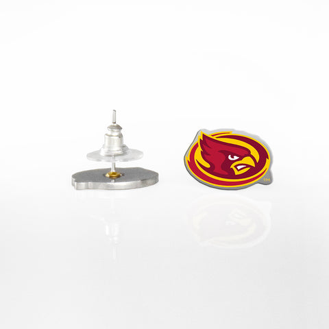 Iowa State Post Earrings