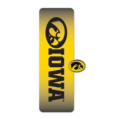 Iowa Hawkeyes Bookmark & Pin
