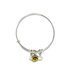 Iowa Hawkeyes Bangle Bracelet