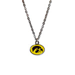 IOWA HAWKEYES FAN NECKLACE