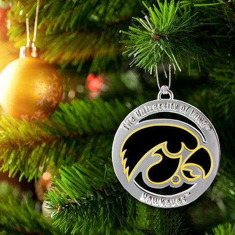 IOWA HAWKEYES ORNAMENT