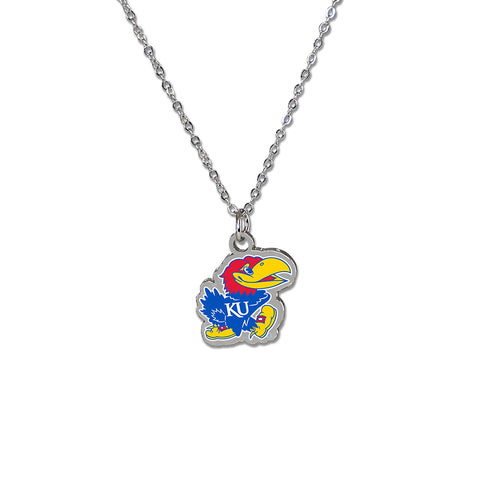 University of Kansas Fan Necklace