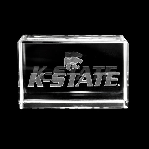 Kansas State Wildcats Crystal Cube