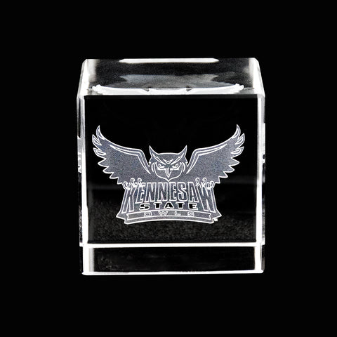 Kennesaw State Owls Crystal Cube