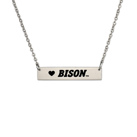 North Dakota State Bar Necklace