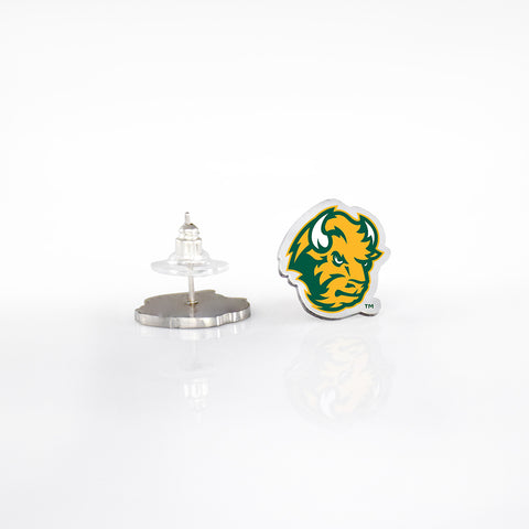 North Dakota State Post Earrings